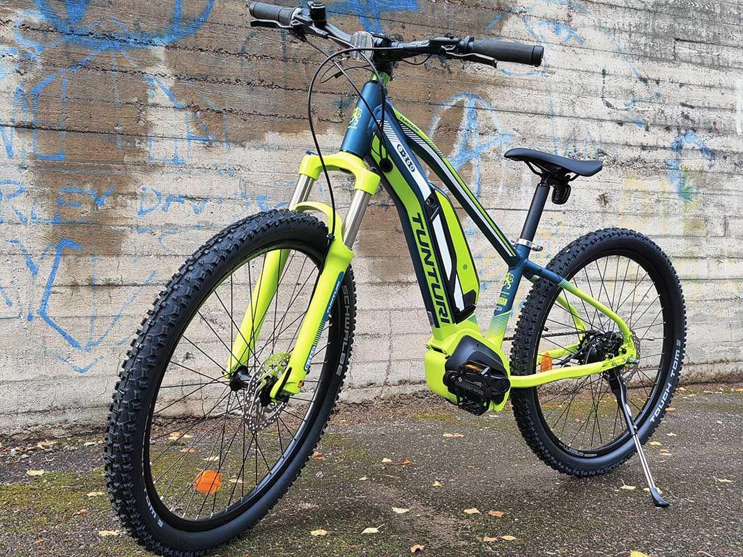Tunturi E260, nuorten sähkömaastopyörä